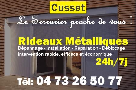 Rideaux Metalliques Cusset 04 73 26 50 77 24h 7j